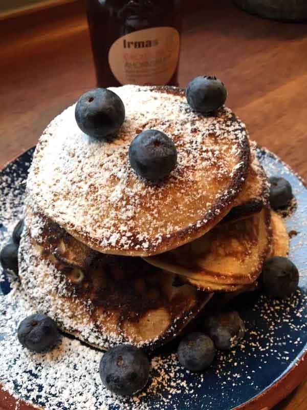 Opskrift: Amerikanske pandekager med et nordisk twist