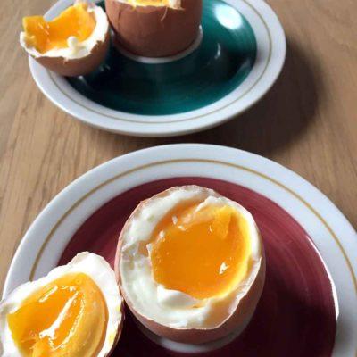 Blødkogt æg uden hokus pokus