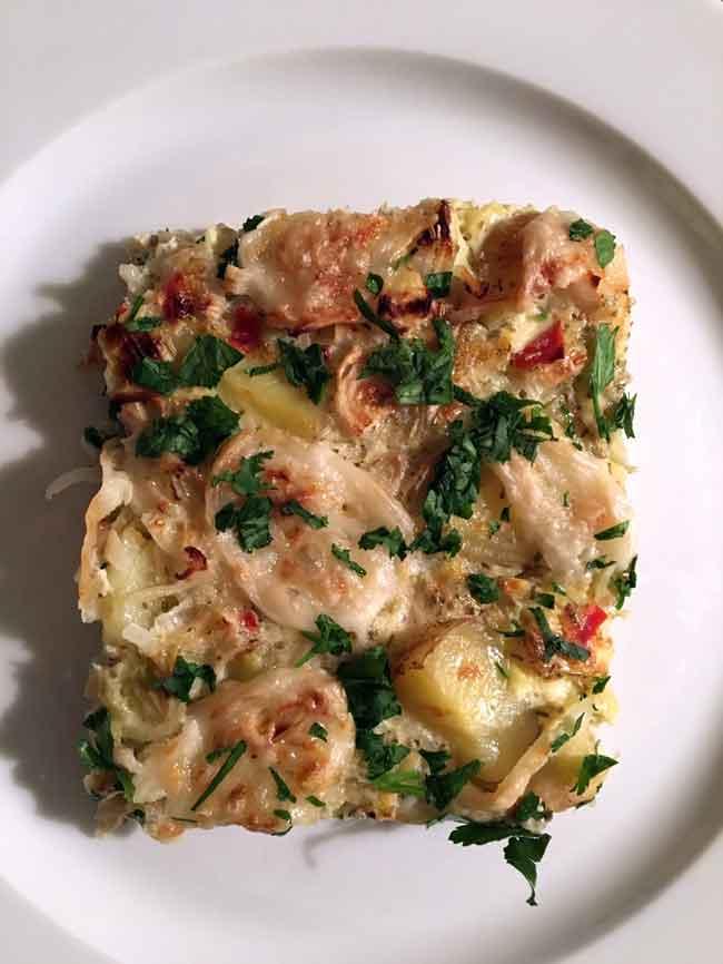 Opskrift: Nem og sund spansk tortilla i ovn