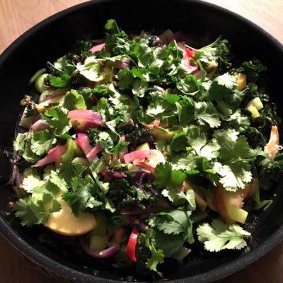 Lun & spicy thaiagtig salat