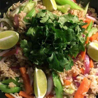 Opskrift: Stegte ris thai-style