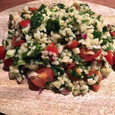 Opskrift: Tabouleh - libanesisk kryddersalat