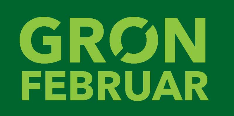 Grøn februar logo