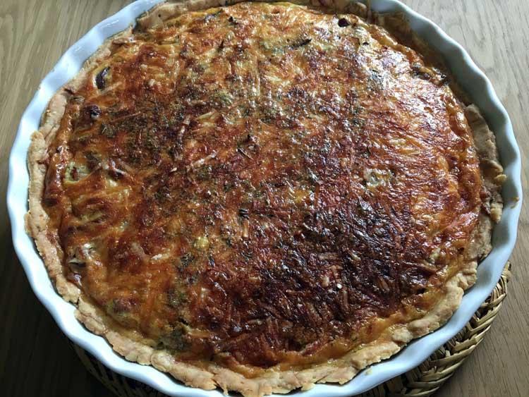 Opskrift: Quiche Lorraine – tærternes tærte