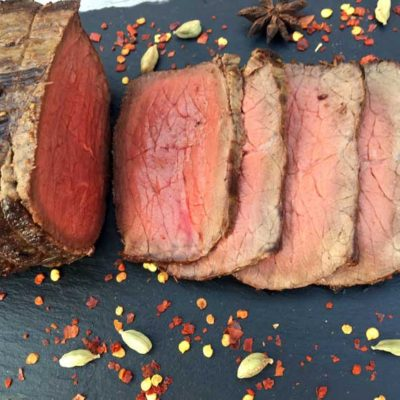 Opskrift: Pikant krydret roastbeef