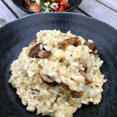 Opskrift: Risotto med svampe på den nemme måde
