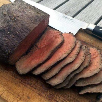 Opskrift: Rødvinsmarineret roastbeef i ovn
