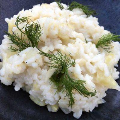 Opskrift: Raffineret og nem risotto med fennikel