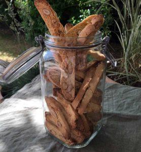 Opskrift: Biscotti - sprøde, italienske mandelkager