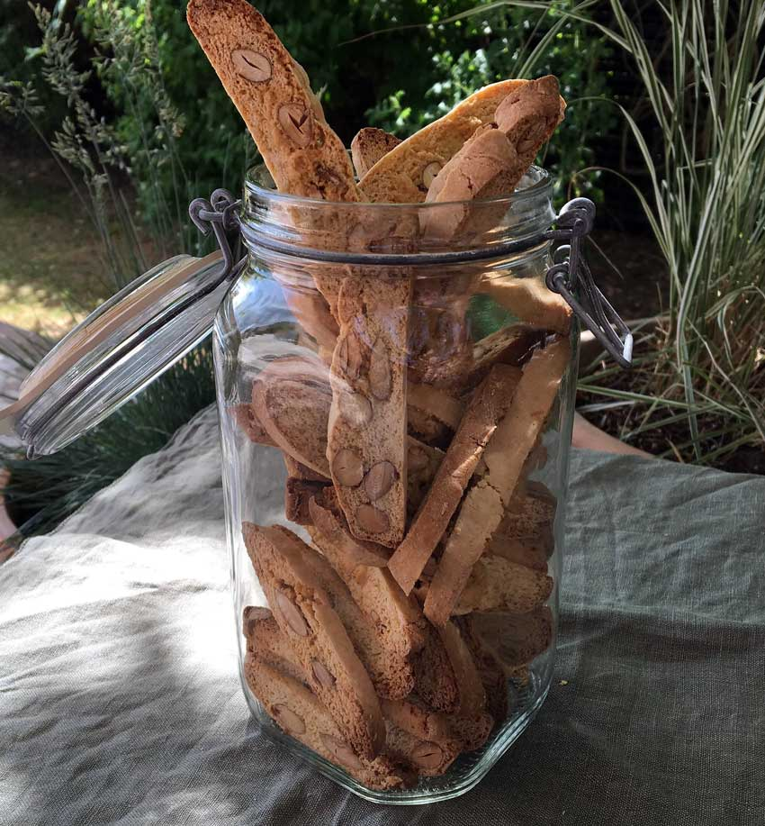 Opskrift: Biscotti – sprøde, italienske mandelkager