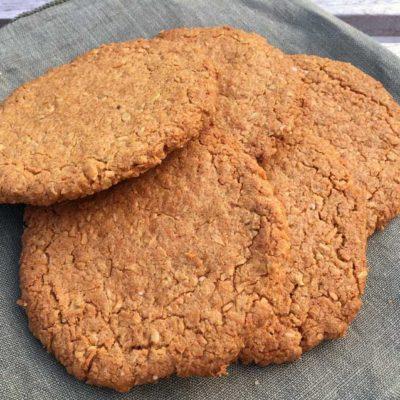 Opskrift: Fiberrige havregryn cookies