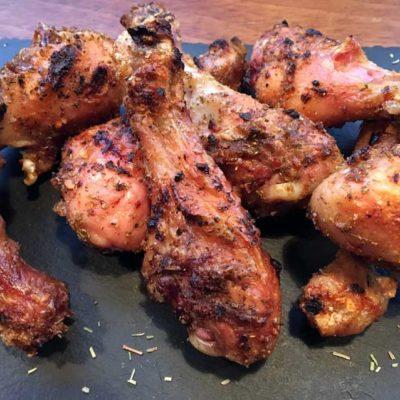 Opskrift: Hele kyllingelår på grill