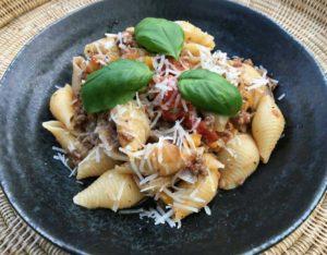 Opskrift: Autentisk og nem pasta med kødsovs