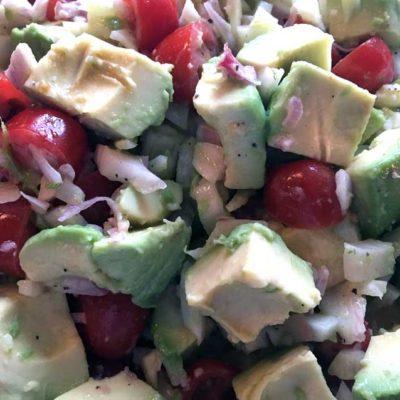 Opskrift: Avocadosalat med fennikel