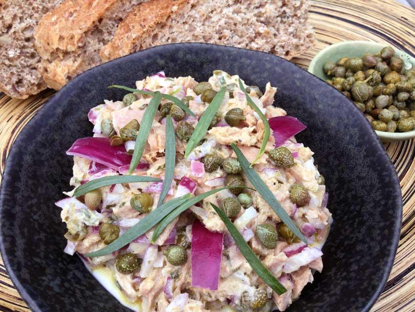 Opskrift: Sund tunsalat med skyr