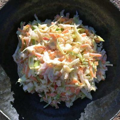 Opskrift: Frisk, sund og cremet coleslaw