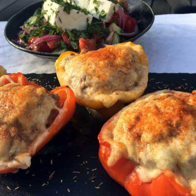Opskrift: Saftige fyldte peberfrugter