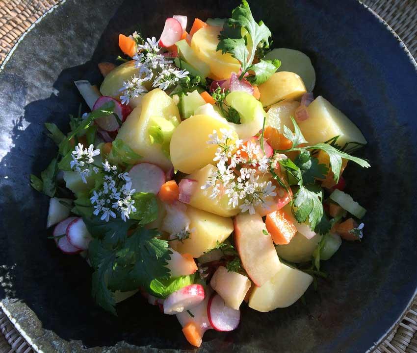 Opskrift: Sund kartoffelsalat thaistyle