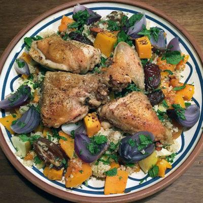 Opskrift: Lun, krydret butternut squash salat