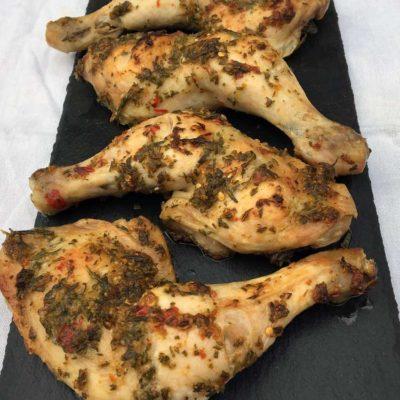 Kyllingeoverlår med rosmarin
