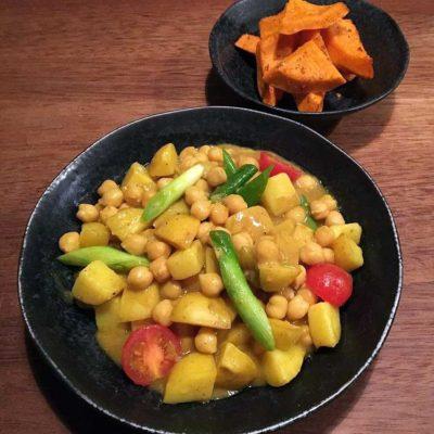 Indisk vegetar gryderet