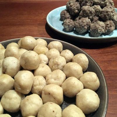 Opskrift: Kødboller og melboller til suppe