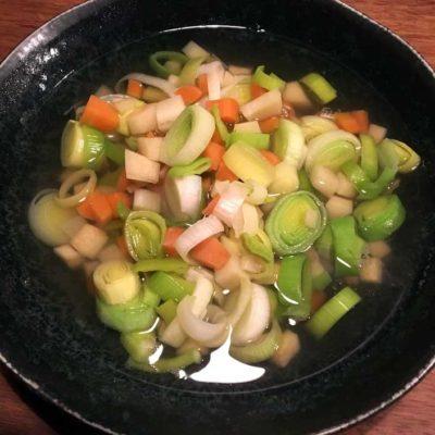 Opskrift på en Klassisk grøntsagssuppe