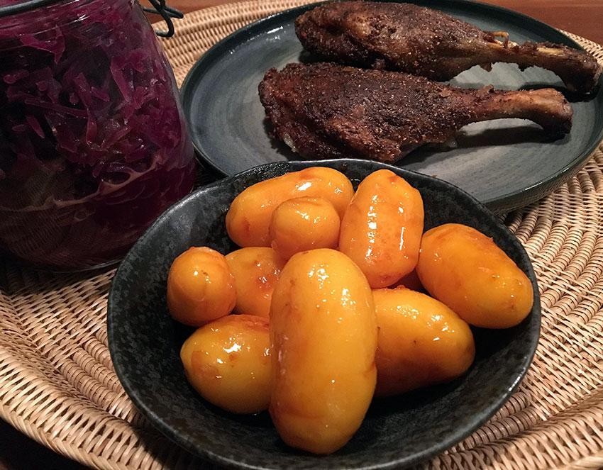 Opskrift: Perfekte brune kartofler til juleaften