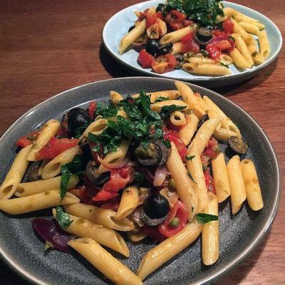 Opskrift: Den frække pasta puttanesca