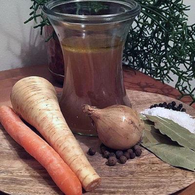 Opskrift: Vegansk bouillon