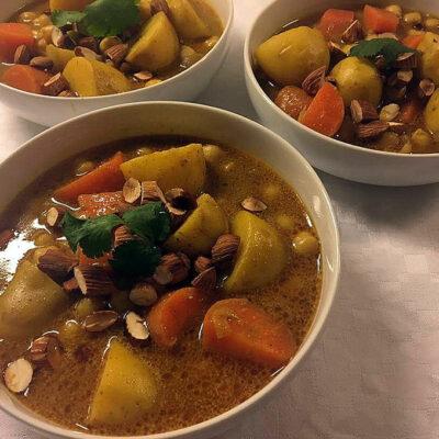 Opskrift: Rund og lækker vegetar korma