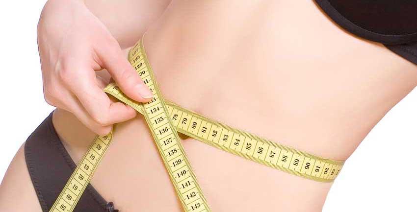Kvinde på slankekur der skal tabe sig