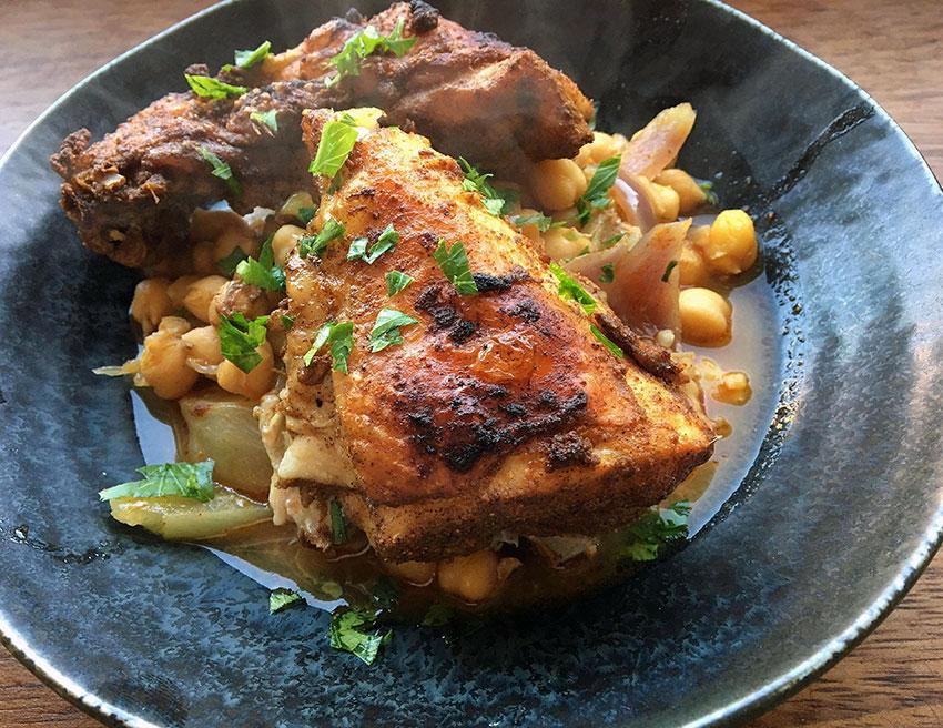 Opskrift: Marokkansk kylling i tagine