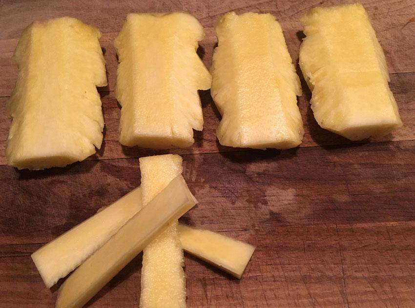 Den færdige ananas