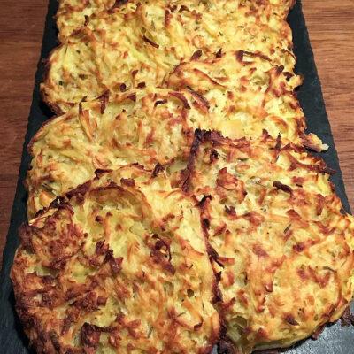 Opskrift: Kartoffelpandekage i ovn