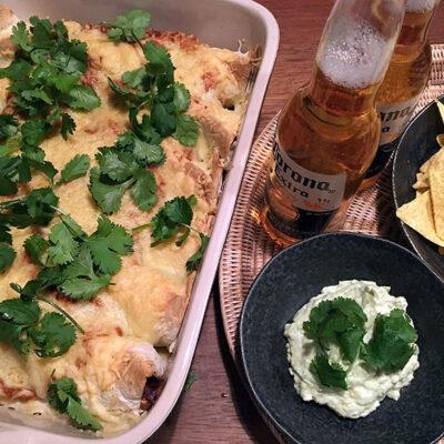 Opskrift: Vegetar enchiladas