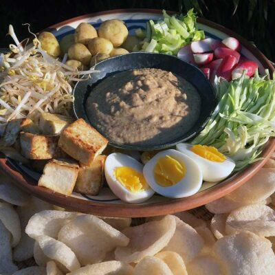Opskrift: Gado gado - indonesisk madsalat