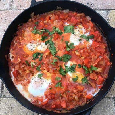 Opskrift: Shakshuka - israelsk morgenmad