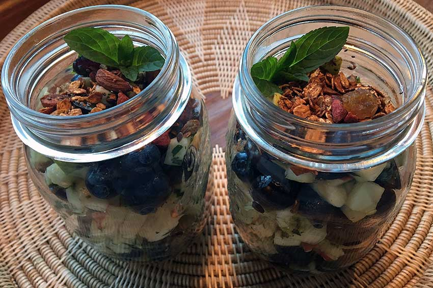 Opskrift: Abeskøn abemad med blåbær