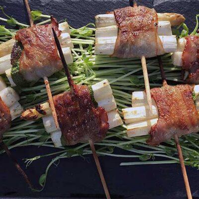 Opskrift: Asparges med bacon på grill