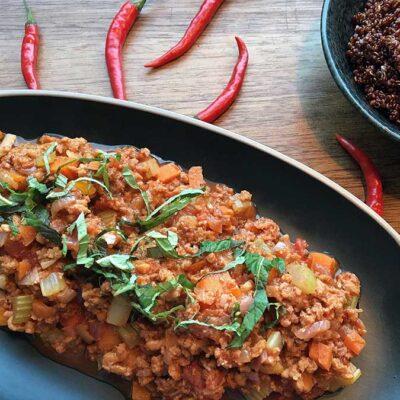 Opskrift: Velkrydret chili sin carne