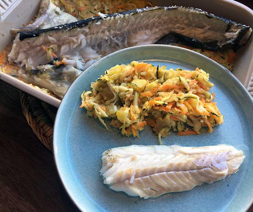 Opskrift: Hel torsk i ovn på den lækre måde