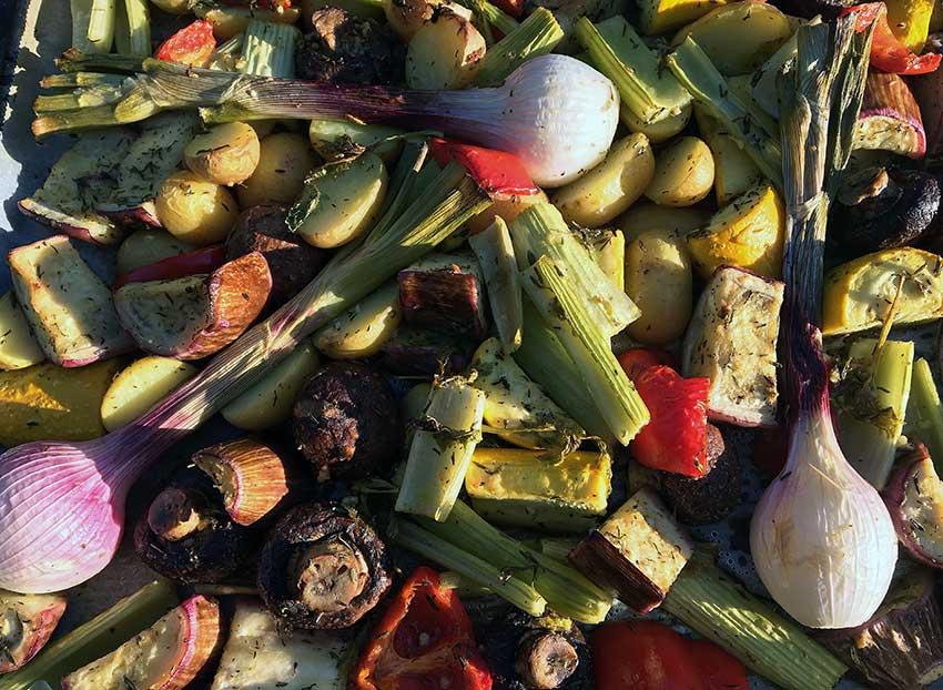 Opskrift: Ovnbagte grøntsager som middagsret