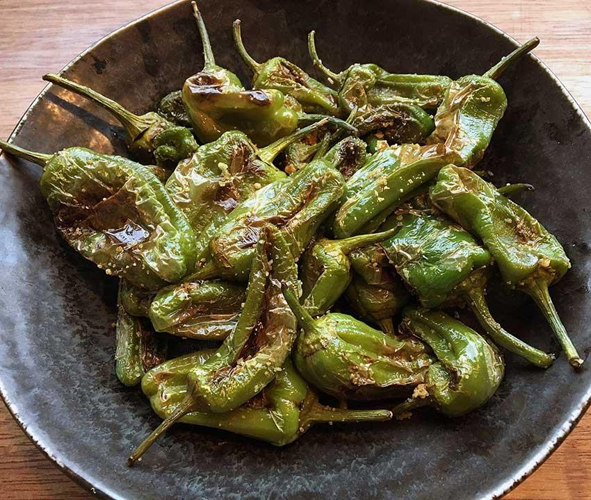 Opskrift: Pimientos de Padrón – stegte tapas pebre