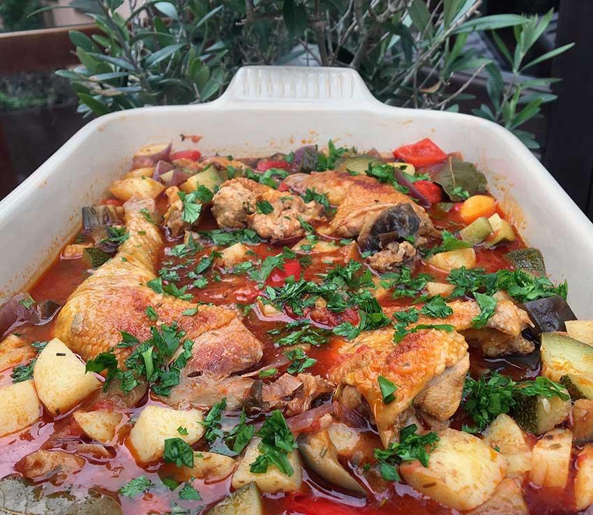 Opskrift: Den skønneste Provence-kylling