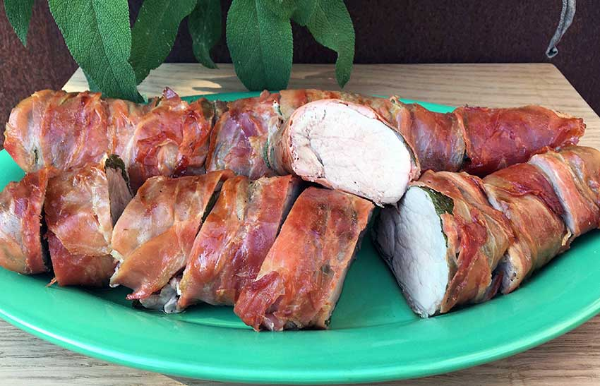Opskrift: Helstegt svinemørbrad på grill