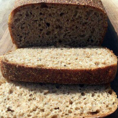 Opskrift: Koldhævet franskbrød i form (røremaskine)