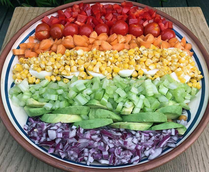 Opskrift: Fræk Rainbow Bowl