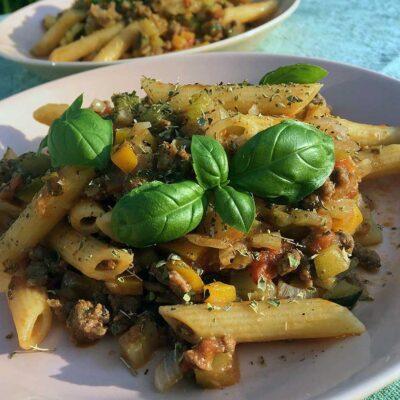 Opskrift: Sund pasta bolognese