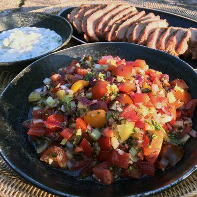 Opskrift: Sydamerikansk tomatsalsa (salsa criolla)